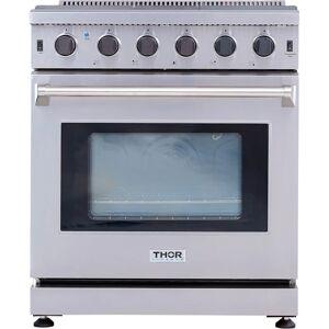 Thor Kitchen LRG3001U 30 Inch Wide 4.5 Cu. Ft. Capacity Freestanding Gas Range with 9000 BTU Oval Burner Stainless Steel Ranges Free Standing Gas  - Stainless Steel