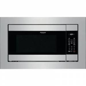 Frigidaire FGMO226NU Gallery 25 Inch Wide 2.2 Cu. Ft. 1200 Watt Built-In Microwave Stainless Steel Cooking Appliances Microwave Ovens Built In