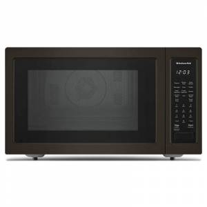 KitchenAid KMCC5015G 22 Inch Wide 1.5 Cu. Ft. 1000 Watt Countertop Microwave with Convection Black Stainless Microwave Ovens Microwave Countertop