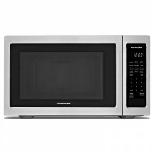 KitchenAid KMCS1016G 22 Inch Wide 1.6 Cu. Ft. 1200 Watt Countertop Microwave Stainless Steel Cooking Appliances Microwave Ovens Countertop Microwaves
