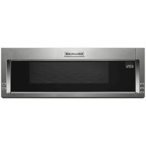 KitchenAid KMLS311H 30 Inch Wide 1.1 Cu. Ft. 1000 Watt Over the Range Microwave Stainless Steel Cooking Appliances Microwave Ovens Over the Range