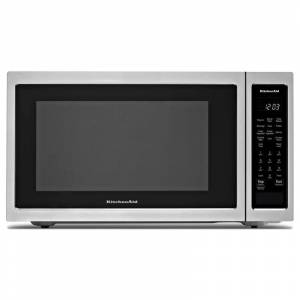 KitchenAid KMCC5015G 22 Inch Wide 1.5 Cu. Ft. 1000 Watt Countertop Microwave with Convection Stainless Steel Cooking Appliances Microwave Ovens