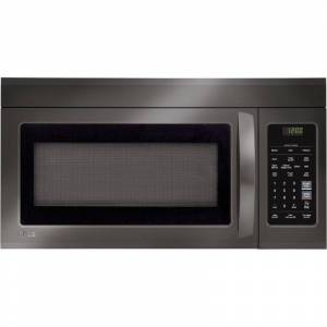 LG LMV1831S 1.8 Cu. Ft. Over-The-Range Microwave Oven with Sensor Cooking Black Stainless Steel Cooking Appliances Microwave Ovens Over the Range