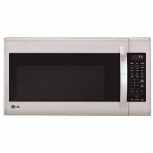 LG LMV2031S 2.0 Cu. Ft. 300 CFM Over-the-Range Microwave with Sensor Cooking Stainless Steel Cooking Appliances Microwave Ovens Over the Range