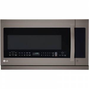 LG LMHM2237S 2.2 Cu. Ft. 400 CFM Over-the-Range Microwave with ExtendaVent 2.0 Black Stainless Steel Cooking Appliances Microwave Ovens Over the Range