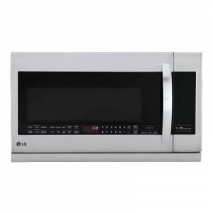 LG LMHM2237S 2.2 Cu. Ft. 400 CFM Over-the-Range Microwave with ExtendaVent 2.0 Stainless Steel Cooking Appliances Microwave Ovens Over the Range