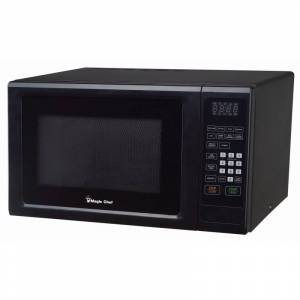 Magic Chef MCM1110 20 Inch Wide 1.1 Cu. Ft. 1000 Watt Countertop Microwave with Express Cook Function Black Cooking Appliances Microwave Ovens