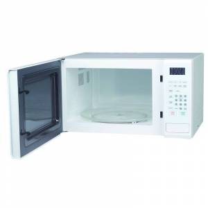 Magic Chef MCM1110 20 Inch Wide 1.1 Cu. Ft. 1000 Watt Countertop Microwave with Express Cook Function White Cooking Appliances Microwave Ovens