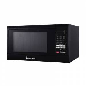 Magic Chef MCM1611 22 Inch Wide 1.6 Cu. Ft. 1100 Watt Countertop Microwave with Child Lock Black Cooking Appliances Microwave Ovens Countertop