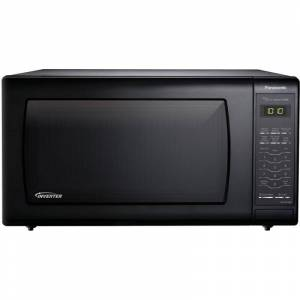 Panasonic NN-SN736 22 Inch Wide 1.6 Cu. Ft. 1250 Watt Countertop Microwave Black Cooking Appliances Microwave Ovens Countertop Microwaves