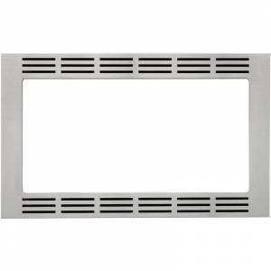Panasonic NN-TK722 27 Inch Wide Microwave Oven Trim Kit for Panasonic Microwave Ovens Stainless Steel Cooking Appliance Accessories and Parts
