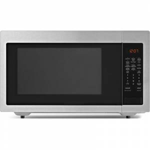 Whirlpool UMC5225G 24 Inch Wide 2.2 Cu. Ft. 1200W Countertop Microwave Oven Fingerprint Resistant Stainless Steel Cooking Appliances Microwave Ovens