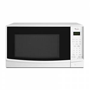 Whirlpool WMC10007A 0.7 Cu. Ft. Countertop Microwave with Electronic Touch Controls White Cooking Appliances Microwave Ovens Countertop Microwaves
