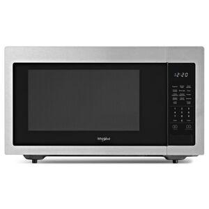 Whirlpool WMC30516H 22 Inch Wide 1.6 Cu. Ft. 1200 Watt Countertop Microwave Stainless Steel Cooking Appliances Microwave Ovens Countertop Microwaves