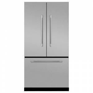 AGA MMCFDR23 Mercury Series 36 Inch Wide 22.1 Cu. Ft. French Door Refrigerator with Pure Filtration System Stainless Steel Refrigeration Appliances
