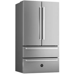 Bertazzoni REF36X/17 36 Inch Wide 21 Cu. Ft. French Door Refrigerator Stainless Steel Refrigeration Appliances Full Size Refrigerators French Door  - Stainless Steel