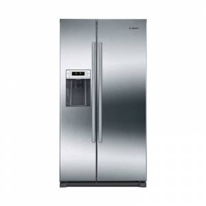 Bosch B20CS30SN 36 Inch Wide 20.2 Cu. Ft. Energy Star Rated Side by Side Door Refrigerator with MultiAirflow Cooling System Stainless Steel  - Stainless Steel