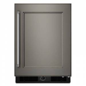 KitchenAid KURR104E 24 Inch Wide 4.9 Cu. Ft. Undercounter Refrigerator with Touch Controls and LED Lighting Panel Ready Refrigeration Appliances  - Panel Ready