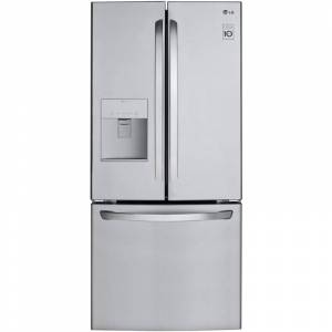 LG LFDS22520 30 Inch Wide 21.8 Cu. Ft. Energy Star Rated French Door Refrigerator with Multi-Air Flow™ Technology Stainless Steel Refrigeration