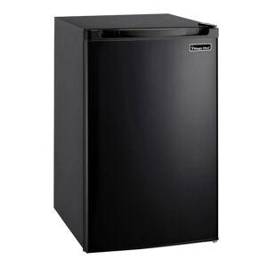 Magic Chef MCBR440 20 Inch Wide 4.4 Cu. Ft. Compact Refrigerator with Freezer Black Refrigeration Appliances Compact Refrigerators Compact  - Black