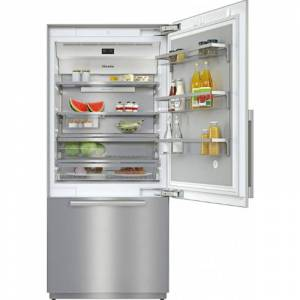 Miele KF 2901 SF MasterCool 36 Inch Wide Energy Star Rated Bottom Mount Refriger Clean Touch Steel-Right Hinge Refrigerators Bottom Mount  - Clean Touch Steel-Right Hinge