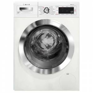 Bosch WAW285H2U 24 Inch Wide 2.2 Cu. Ft. Front Loading Washer with Speed Perfect White Laundry Appliances Washing Machines Front Loading Washing