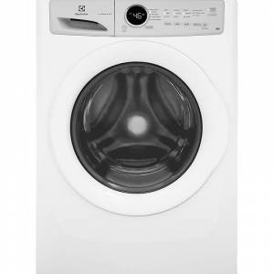 Electrolux EFLW317TI 27 Inch Wide 4.3 Cu. Ft. Energy Star Rated Washer with IQ-Touch Controls White Laundry Appliances Washing Machines Front Loading