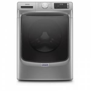 Maytag MHW6630H 27 Inch Wide 4.8 Cu Ft. Energy Star Rated Electric Front Loading Washer with Fresh Hold® Option Metallic Slate Laundry Appliances