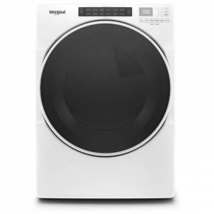 Whirlpool WED6620H 27 Inch Wide 7.4 Cu Ft. Energy Star Rated Electric Dryer White Laundry Appliances Dryers Electric Dryers