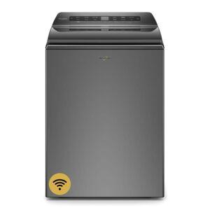 Whirlpool WTW6120H 27 Inch Wide 4.8 Cu Ft. Top Loading Washing Machine Chrome Shadow Laundry Appliances Washing Machines Top Loading Washing Machines