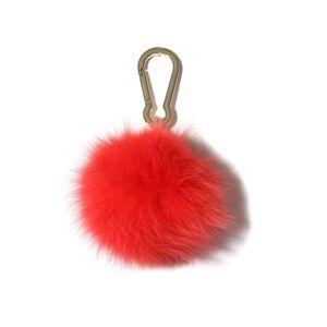 Hampden Fox Pompom Keychain in Paradise