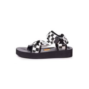 Hampden Depa V2 Check Sandal in Black