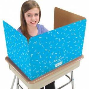Really Good Stuff Privacy Shields Turquoise by Really Good Stuff Inc