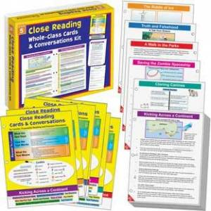 No Prep Close Reading Guided Passages Grade 5 by Really Good Stuff Inc