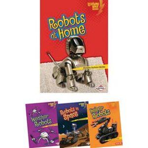 Lightning Bolt Books Robots Everywhere 4 Book Set by Lerner Publishing Company