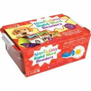 Nonfiction Sight Word Readers Classroom Tub Level A by Scholastic