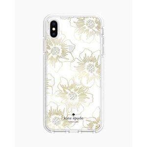 kate spade new york Reverse Hollyhocks iPhone XS Max Case