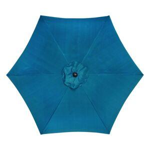 Living Accents 9 Tiltable Ocean Blue Market Umbrella