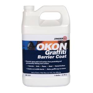 Zinsser OKON Graffiti Barrier Coat 1 gal. Liquid
