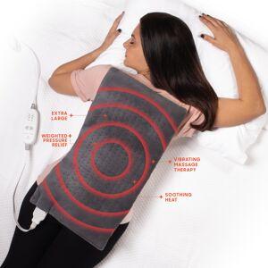 Sharper Image Calming Heat Massaging Heating Pad 1 pc.
