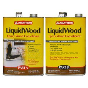 Abatron LiquidWood Clear Epoxy Wood Consolidant Kit 2 gal.