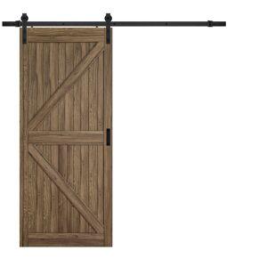 Renin 84 in. H x 36 in. W K-Design Barn Door