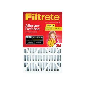 3M Filtrete 20 in. W x 25 in. H x 4 in. D Pleated Air Filter