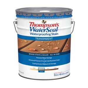 Thompson's WaterSeal Transparent Acorn Brown Waterproofing Wood Stain and Sealer 5 gal.