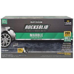 Rust-Oleum RockSolid Marble Stone Obsidian Epoxy Floor Paint 80 oz.