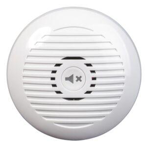 Heath-Zenith White Plastic Wireless Door Chime Kit