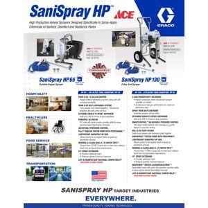 Graco SaniSpray HP 130 Airless Sprayer