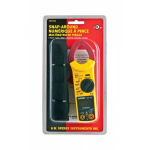 Sperry Snap-Around 300V - 600V LCD AC Clamp Meter 1 pk