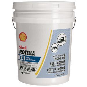 Shell Rotella 15W-40 Diesel Heavy Duty Engine Oil 5 gal.