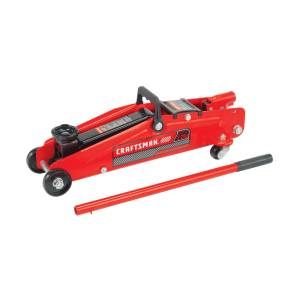 Craftsman Manual Automotive Floor Jack 2-1/4